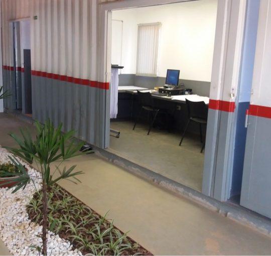 Locação de Containers para escritório