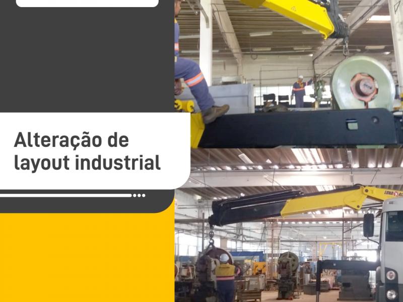 Alteração de layout industrial