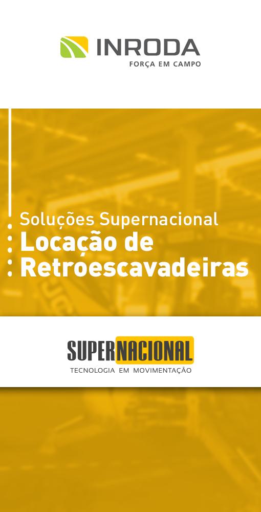 Soluções Supernacional: Locação de Retroescavadeiras