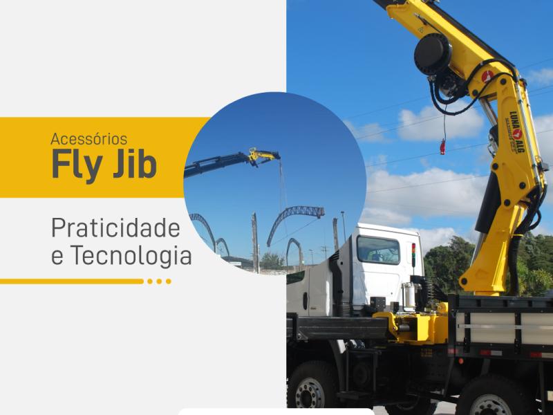 Fly Jib – Hidráulico Bi Articulado