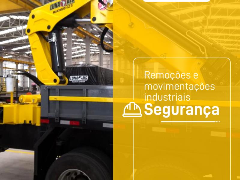 Remoções e movimentações industriais – Segurança